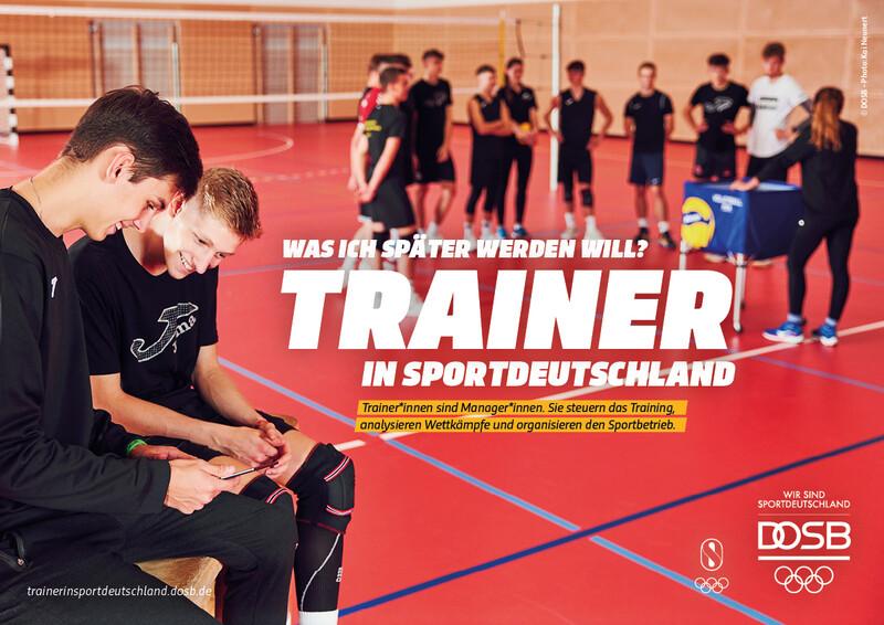 Trainer Volleyball